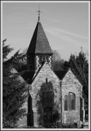 St Leonard's in black and white